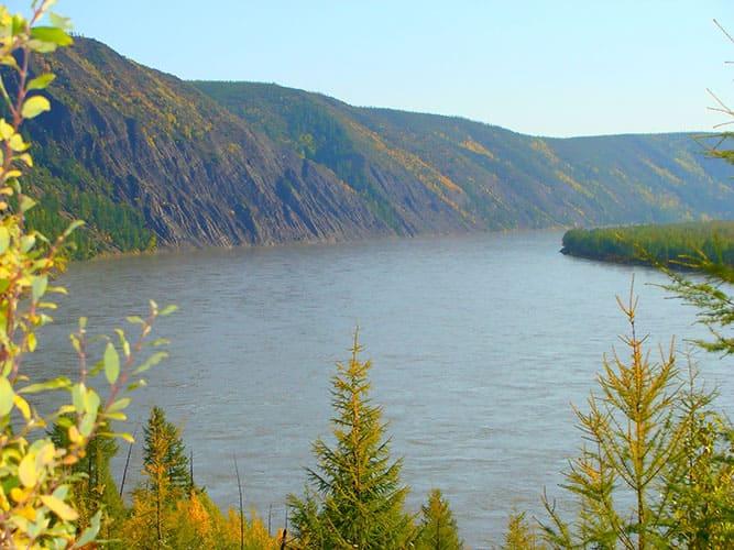 Река Колыма, фото