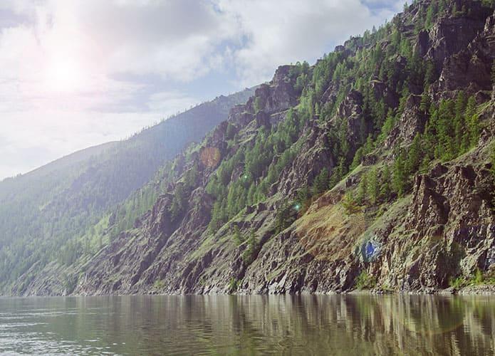 Река Колыма, фото берегов