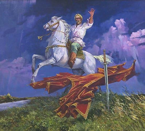 О.С.Маслов. Не в силе Бог - но в правде. Александр Невский