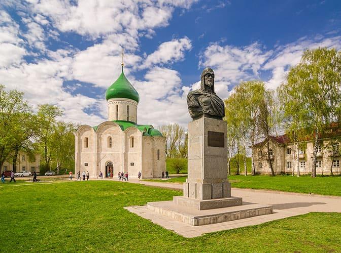 Переславль-Залесский, памятник Александру Невскому