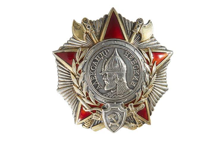 Орден Александра Невского времен Великой отечественной войны