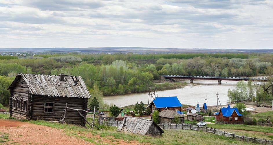 Река Сакмара, приток Урала