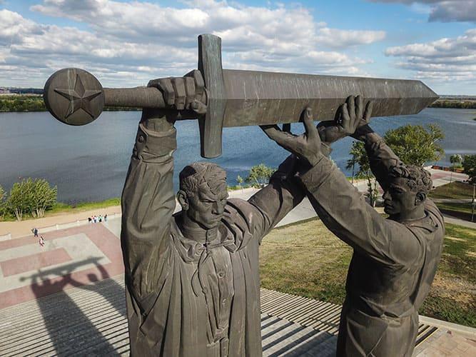 Магнитогорск, набережная реки Урал